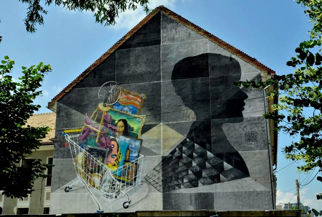 Obie Platon - The Price of Art, Cluj-Napoca, Romania, 2015 - collaboration with Kero