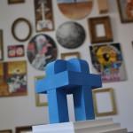 Obie Platon - Digital Connection, Sculpture, 2014