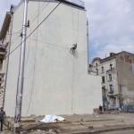 Obie Platon - Saint George, Bucharest 2015 - with Kero & Irlo - painted over