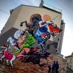 Obie Platon - Saint George, Bucharest 2015 - with Kero and Irlo